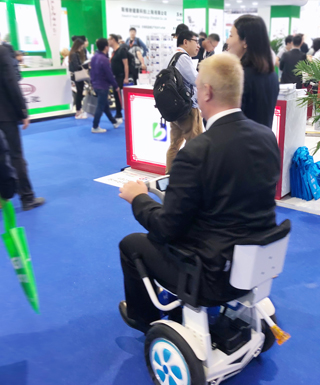 Airwheel A6T exhibition